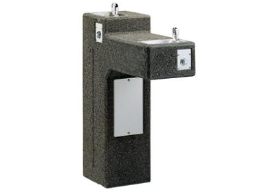 Image for Elkay Outdoor Stone Fountain Pedestal Non-Filtered, Non-Refrigerated from ELKAY