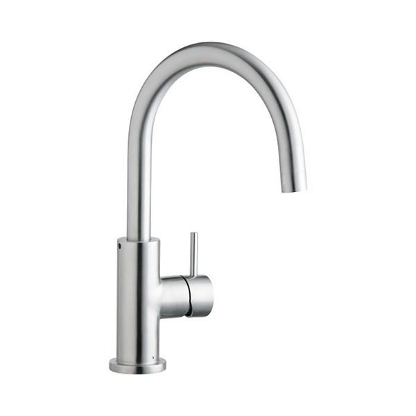 Superb Image For Elkay Allure Single Hole Kitchen Faucet With Lever Handle Satin  Stainless Steel From ELKAY Nice Ideas