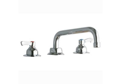 "Image for Elkay 8"" Centerset with Concealed Deck Faucet with 8"" Tube Spout 2"" Lever Handles Chrome from ELKAY"