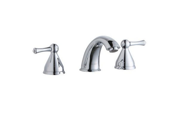 "Elkay 8"" Centerset with Concealed Deck Lavatory Faucet with 6"" Cast Fixed Spout Chrome"