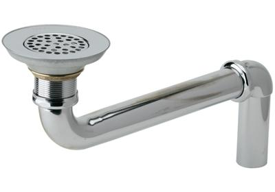 "Image for Elkay 3-1/2"" Drain Chrome Plated Brass Body, Strainer and LKADOS Tailpiece from ELKAY"