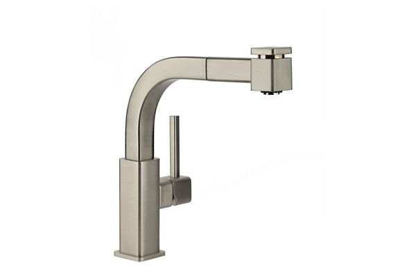 Elkay Avado Single Hole Bar Faucet with Pull-out Spray and Lever Handle
