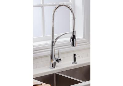 Image for Elkay Avado Single Hole Kitchen Faucet with Semi-Professional Spout Forward Only Lever Handle Chrome from ELKAY