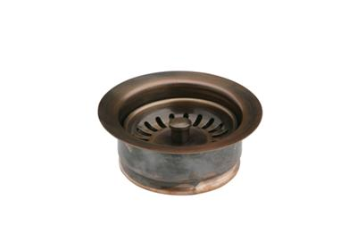Image for Elkay Drain Fitting Antique Copper Disposer Flange and Removable Strainer from ELKAY