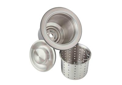 "Image for Elkay 3-1/2"" Drain Fitting, Deep Strainer Basket and Brass tailpiece from ELKAY"