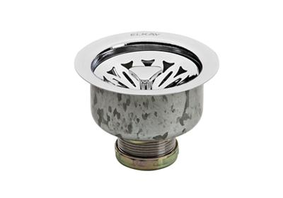 Image for Elkay Drain Fitting Chrome Plated Stainless Steel Body with Strainer Basket from ELKAY