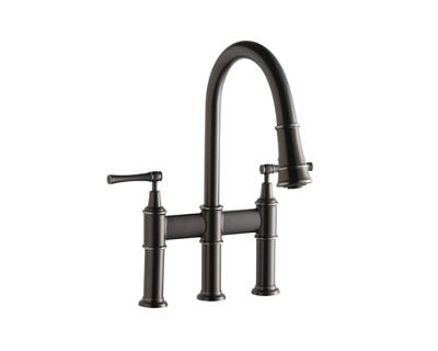 Image for Explore Pull-Down Bridge Kitchen Faucet from elkay-consumer