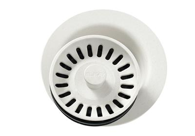 Image for Elkay Polymer Disposer Flange with Removable Basket Strainer and Rubber Stopper Parchment from ELKAY