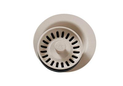 "Image for Elkay Polymer 3-1/2"" Disposer Flange with Removable Basket Strainer and Rubber Stopper Putty from ELKAY"