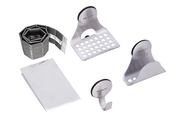 SinkMate Kit with Hook, Sponge Holder and Ledge