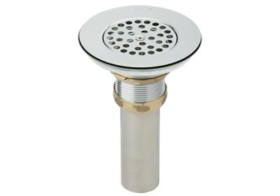 Image for Elkay Drain Nickel Plated Brass Body, Vandal-resistant Strainer and Tailpiece from ELKAY