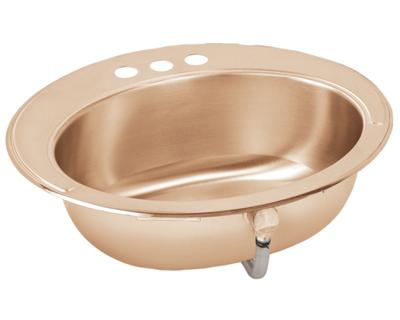 Image for Asana CuVerro® Antimicrobial Copper Single Bowl Top Mount Sink from elkay-consumer