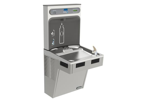Image for Elkay EZH2O Bottle Filling Station with Single ADA Cooler, Filtered Non-Refrigerated Light Gray from Elkay Latin America
