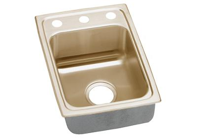 "Image for Elkay CuVerro Antimicrobial Copper 15"" x 22"" x 4-1/2"", Single Bowl Top Mount ADA Sink from ELKAY"