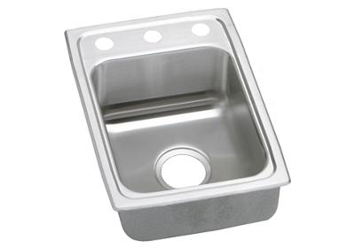 "Image for Elkay Gourmet Stainless Steel 15"" x 22"" x 7-5/8"", Single Bowl Top Mount Sink from ELKAY"