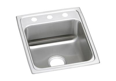 "Image for Elkay Lustertone Stainless Steel 15"" x 22"" x 7-5/8"", Single Bowl Top Mount Sink from ELKAY"