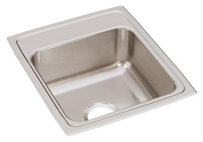 "Image for Elkay Lustertone Classic Stainless Steel 17"" x 20"" x 7-5/8"", Single Bowl Drop-in Sink from ELKAY"