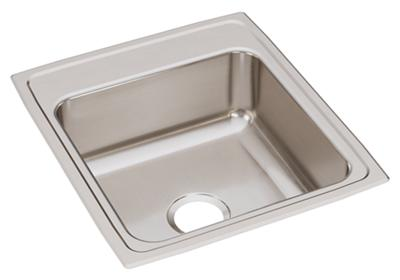 "Image for Elkay Lustertone Classic Stainless Steel 19-1/2"" x 22"" x 7-5/8"", Single Bowl Drop-in Sink from ELKAY"