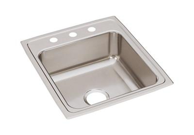 "Image for Elkay Lustertone Stainless Steel 19-1/2"" x 22"" x 10-1/8"", Single Bowl Top Mount Sink from ELKAY"