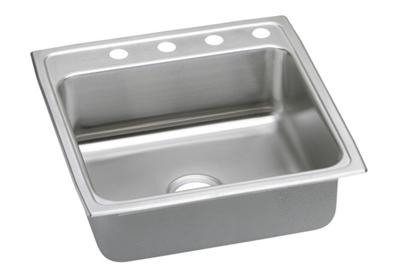 "Image for Elkay Gourmet Stainless Steel 22"" x 22"" x 7-5/8"", Single Bowl Top Mount Sink from ELKAY"