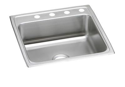 "Image for Elkay Lustertone Stainless Steel 22"" x 22"" x 7-5/8"", Single Bowl Top Mount Sink from ELKAY"
