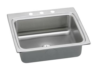 "Image for Elkay Gourmet Stainless Steel 25"" x 22"" x 8-1/8"", Single Bowl Top Mount Sink with Perfect Drain from ELKAY"