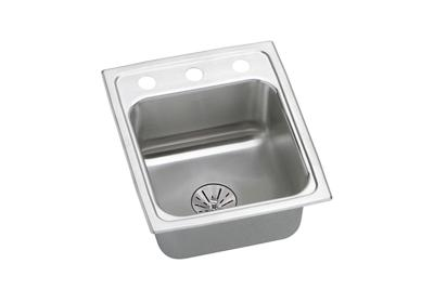 "Image for Elkay Lustertone Classic Stainless Steel 13"" x 16"" x 6-1/2"", Single Bowl Drop-in ADA Sink with Perfect Drain from ELKAY"