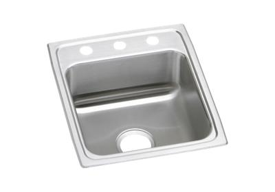 "Image for Elkay Lustertone Stainless Steel 17"" x 20"" x 5-1/2"", Single Bowl Top Mount ADA Sink from ELKAY"
