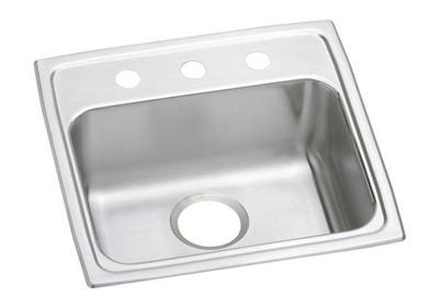 "Image for Elkay Lustertone Classic Stainless Steel 19"" x 18"" x 5"", Single Bowl Top Mount ADA Sink from ELKAY"
