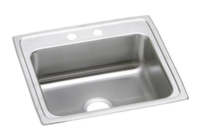 "Image for Elkay Lustertone Classic Stainless Steel 22"" x 19-1/2"" x 6"", Single Bowl Top Mount ADA Sink from ELKAY"