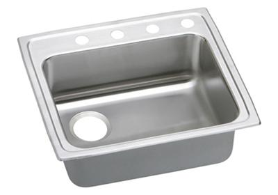 "Image for Elkay Lustertone Stainless Steel 22"" x 19-1/2"" x 6"", Single Bowl Top Mount ADA Sink from ELKAY"