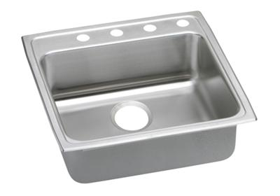 "Image for Elkay Lustertone Stainless Steel 22"" x 22"" x 6"", Single Bowl Top Mount Sink from ELKAY"