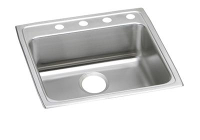 "Image for Elkay Lustertone Classic Stainless Steel 22"" x 22"" x 4"", Single Bowl Top Mount ADA Sink from ELKAY"