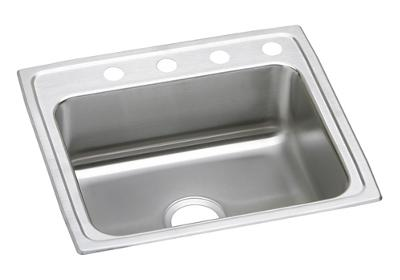"Image for Elkay Lustertone Stainless Steel 25"" x 21-1/4"" x 6"", Single Bowl Top Mount ADA Sink from ELKAY"