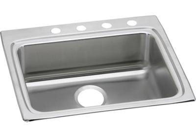 "Image for Elkay Lustertone Stainless Steel 25"" x 22"" x 6"", Single Bowl Top Mount ADA Sink from ELKAY"