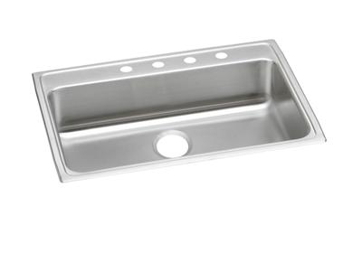 "Image for Elkay Lustertone Stainless Steel 31"" x 22"" x 6-1/2"", Single Bowl Top Mount ADA Sink from ELKAY"