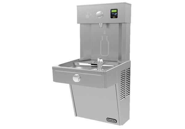 Image for Elkay EZH2O Bottle Filling Station w/ Single Cooler Filtered, 8 GPH Vandal Resistant Stainless 220V *Only for Saudi Arabia from Elkay Middle East