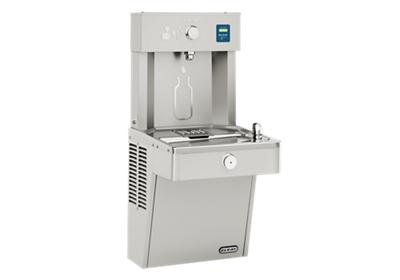 Image for Elkay EZH2O Vandal-Resistant Bottle Filling Station & Single Cooler, Filtered Non-Refrigerated Stainless from ELKAY