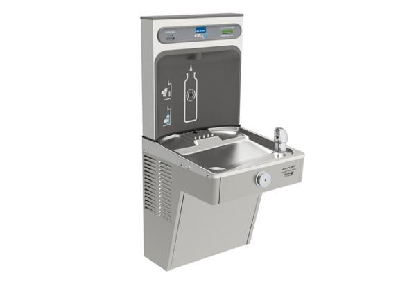 Image for Elkay EZH2O Bottle Filling Station, & Single High Efficiency Vandal-Resistant Cooler, Filtered 8 GPH Stainless from Elkay Latin America