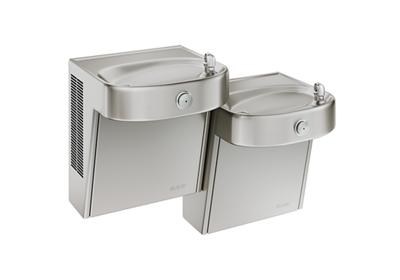 Image for Elkay Cooler Bi-Level Wall Mount ADA Filtered Non-Refrigerated, Stainless from ELKAY