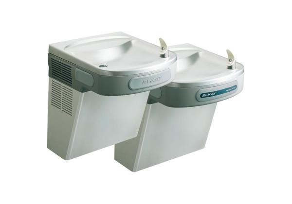 Image for Elkay Versatile Cooler Wall Mount Bi-Level ADA Hands-Free, Filtered 8 GPH Stainless 220V from Elkay Middle East