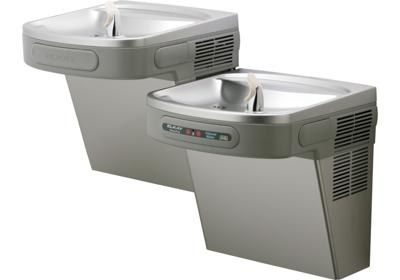 Image for Elkay Versatile Cooler, Wall Mount, Bi-Level, ADA, Filtered, 8 GPH, Stainless from ELKAY