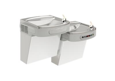 Image for Elkay Versatile Cooler Wall Mount Bi-Level ADA Hands-Free, Filtered 8 GPH Stainless from ELKAY