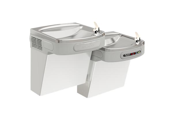 Image for Elkay Versatile Cooler Wall Mount Bi-Level ADA Hands-Free, Filtered 8 GPH Stainless from Elkay Latin America