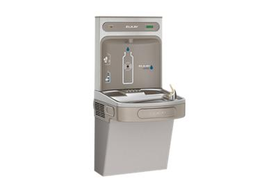 Elkay EZH2O Bottle Filling Station with Single ADA Cooler, Filtered 8 GPH  Light Gray | ELKAY