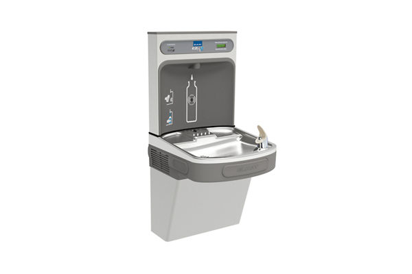 Elkay EZH2O Bottle Filling Station with Single ADA Cooler, Filtered 8 GPH Stainless 220V WRAS