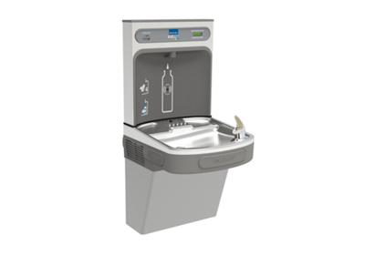 Image for Elkay EZH2O Bottle Filling Station with Single ADA Cooler, Filtered Non-Refrigerated Light Gray 220V from ELKAY