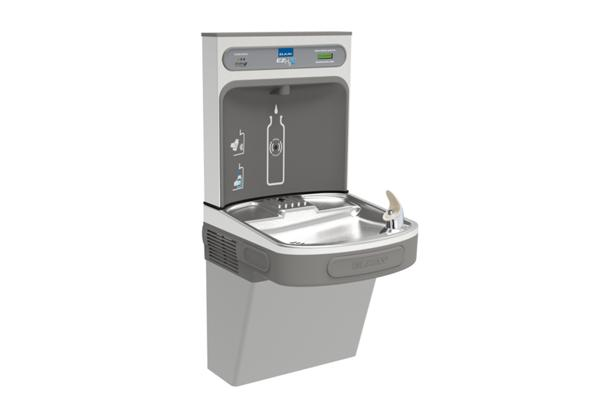 Image for Elkay EZH2O Bottle Filling Station with Single ADA Cooler, Filtered Non-Refrigerated Light Gray 220V from Elkay Europe and Africa