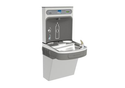 Image for Elkay EZH2O Bottle Filling Station with Single ADA Cooler, Filtered Non-Refrigerated Stainless 220V from ELKAY