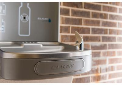 Image for Elkay EZH2O Bottle Filling Station with Single Green ADA Cooler, Filtered 8 GPH Light Gray from ELKAY